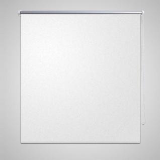 Verdunkelungsrollo 120 x 175 cm weiß