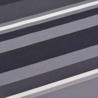 vidaXL Balkonsichtschutz Oxford-Gewebe 90 x 600 cm Grau Gestreift - Vorschau 2