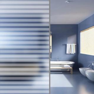 vidaXL Fensterfolie Sichtschutzfolie Streifen Selbstklebend 0, 9x5 m