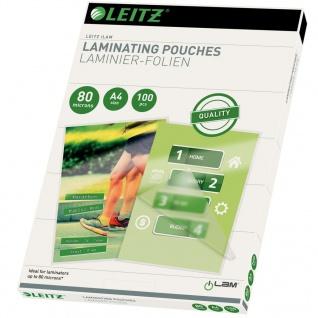 Leitz Laminierfolien 80 Mikron A4 100 Stk.