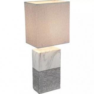 GLOBO Tischleuchte JEREMY Keramik 15 x 12 x 41 cm 21643T