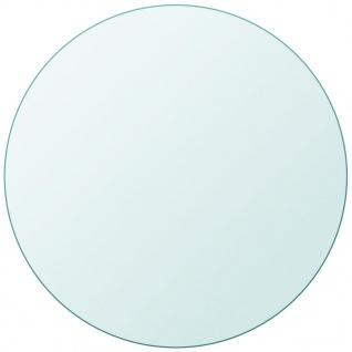 vidaXL Tischplatte aus gehärtetem Glas rund 600 mm - Vorschau 2