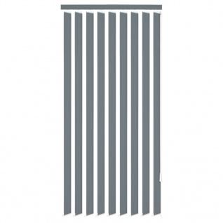 vidaXL Vertikale Jalousien Grau Stoff 195x250 cm