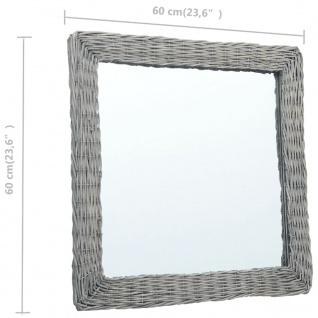 vidaXL Spiegel 60x60 cm Weide - Vorschau 4