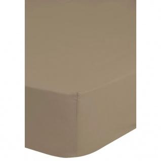 Emotion Spannbettlaken Jersey 140x200 cm Sand 0200.02.44