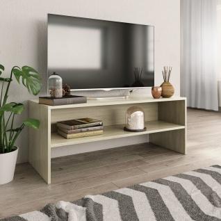 vidaXL TV-Schrank Sonoma-Eiche 100 x 40 x 40 cm Spanplatte