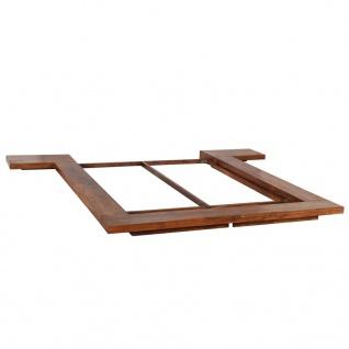 vidaXL Bettgestell Japanischer Stil Futon Massivholz Sheesham 1, 6x2m