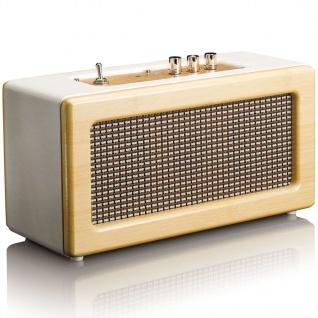 Lenco Tragbarer Bluetooth-Lautsprecher BT-300 Eiche