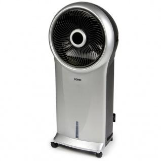 DOMO Luftkühler 89, 5 cm 110 W Schwarz und Silber DO152A