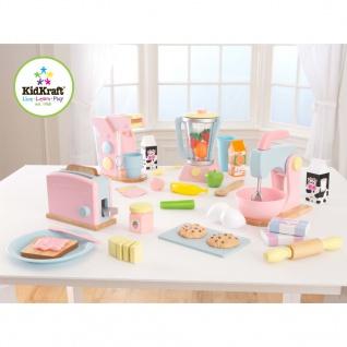 KidKraft 8-teiliges Toaster-Set Pastell 63374