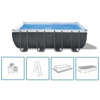 Intex Ultra XTR Frame Pool-Set Rechteckig 549 x 274 x 132 cm 26356GN