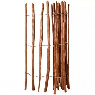 vidaXL Holz-Lattenzaun Haselnussholz Imprägniert 150 x 250 cm