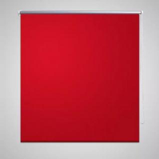 Verdunklungsrollo Verdunkelungsrollo 40 x 100cm Rot