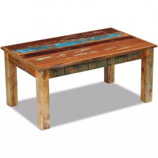 vidaXL Couchtisch Recyceltes Massivholz 100x60x45 cm