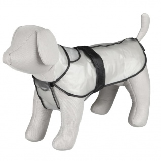 TRIXIE Hunde-Regenmantel Tarbes L 55 cm PVC Transparent