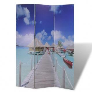 Foto-Paravent Paravent Raumteiler Strand 120 x 180 cm - Vorschau 3
