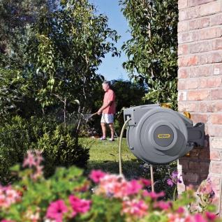 Hozelock Bewässerung Schlauchtrommel 15 m Grau 2380 0000