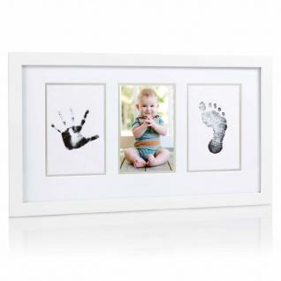 Pearhead Baby-Abdruck Bilderrahmen Weiß
