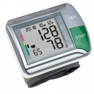 Medisana Handgelenk-Blutdruckmessgerät HGN Weiß und Silbern