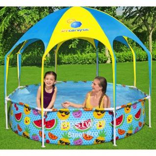 Bestway Steel Pro UV Careful Aufstellpool für Kinder 244x51 cm