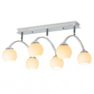 vidaXL Deckenleuchte mit 6 LED-Glühlampen G9 240 W