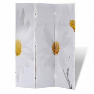 Foto-Paravent Paravent Raumteiler Blumen 120 x 180 cm - Vorschau 4