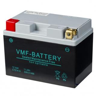 VMF Powersport AGM Batterie 12 V 11, 2 Ah FA YTZ14-S
