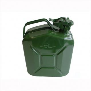 Proplus Benzinkanister 5L Metall grün - Vorschau