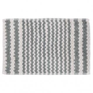 Sealskin Badteppich Badematte Motif 50 x 80 cm Grau 294445414