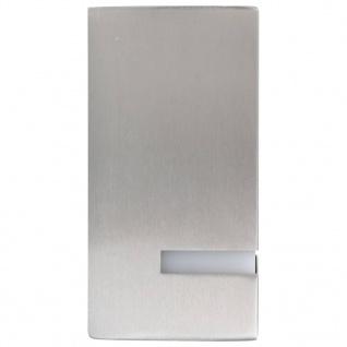 vidaXL Außenwandleuchten 2 Stk. 35 W Silbern Rechteckig - Vorschau 4