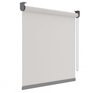 Decosol Rollos Deluxe Lichtdurchlässig Weiß mit Muster 120×190 cm
