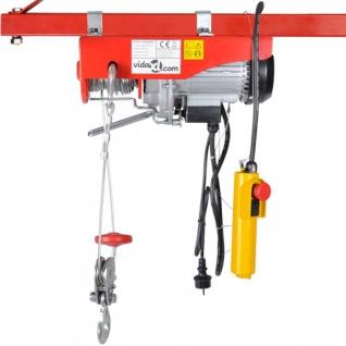 Elektrischer Seilhebezug 1000 W 200/400 kg - Vorschau 2