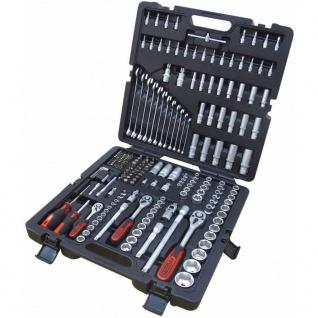 """KS Tools 216-tlg. Steckschlüssel-Satz 1/4"""" + 3/8"""" + 1/2"""" 917.0216"""