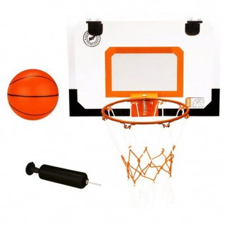 New Port Mini-Basketball-Set mit Korb, Ball und Pumpe 16NA