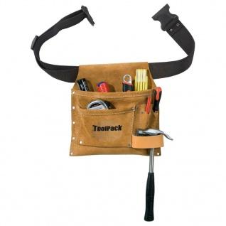 Toolpack Werkzeuggürtel mit Tasche Superior Leder 366.006