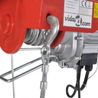 Elektrischer Seilhebezug 1000 W 200/400 kg - Vorschau 4