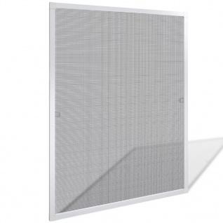 Insektengitter für Fenster 80 x 100 cm weiß
