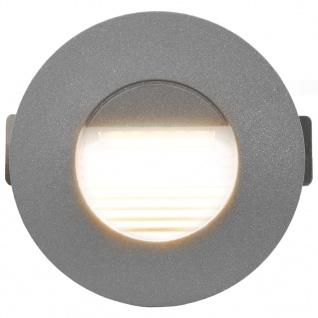 vidaXL Außenwandleuchten 6 Stk. LED 5 W Silbern Rund - Vorschau 4