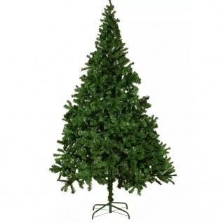 vidaXL Künstlicher Weihnachtsbaum mit dicken Zweigen 210 cm