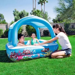 Bestway Baldachin-Spiel-Pool-Blau 147x147x122 cm 52192