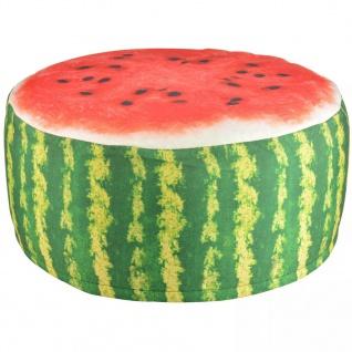 Esschert Design Aufblasbarer Outdoor Sitzpuff Wassermelone 58cm BK011