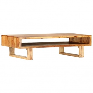 vidaXL Couchtisch 110×55×30 cm Massivholz