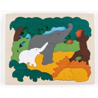 Hape Asiatische Tiere Puzzle E6521