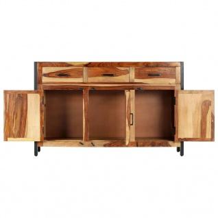 vidaXL Sideboard 120x35x75 cm Massivholz Palisander - Vorschau 4