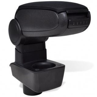 Schwarze Autositz-Armlehne für Ford Fiesta MK7 (2009)