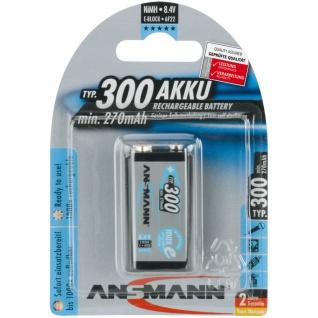 Ansmann Wiederaufladbare Batterie NiMH 300 mAh 5035453