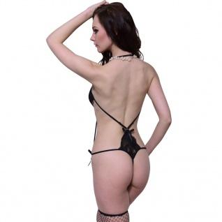Sexy Lingerie Dessous Body Reizwäsche rückenfrei Gr. S / M - Vorschau 2