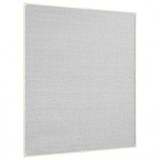 vidaXL Insektenschutz für Fenster Magnetisch Weiß 130x150 cm Fiberglas