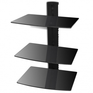 wandregal aus glas g nstig online kaufen bei yatego. Black Bedroom Furniture Sets. Home Design Ideas