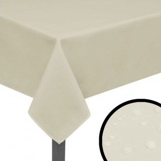 vidaXL Tischdecken 5 Stk Creme 220x130 cm